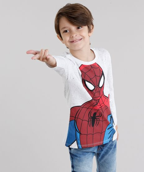 Camiseta-Infantil-Homem-Aranha-Botone-Manga-Longa-Gola-Redonda-Off-White-9047769-Off_White_1