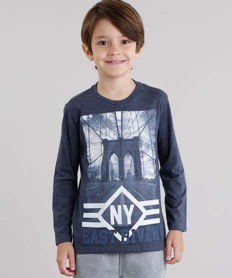 Camiseta-Infantil--NY--Manga-Longa-Gola-Redonda-Azul-Marinho-9033748-Azul_Marinho_1