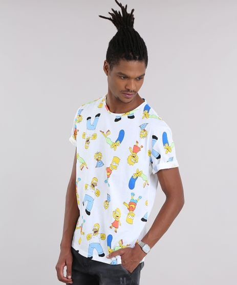 Camiseta-Estampada-Os-simpsons-Off-White-8946647-Off_White_1