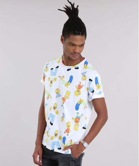 b3c5821360c Camiseta-Estampada-Os-simpsons-Off-White-8946647-Off White 1 ...