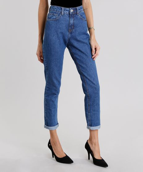 Calca-Jeans-Feminina-Mom-Pants-Azul-Medio-9064296-Azul_Medio_1