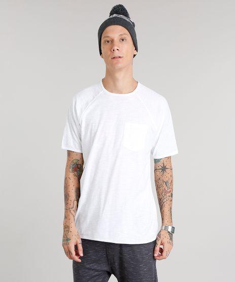 Camiseta-Masculina-com-Bolso-Manga-Curta-Gola-Careca-Branca-9014712-Branco_1