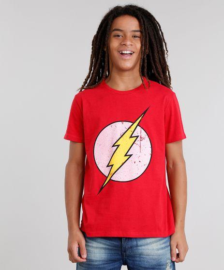 Camiseta-Flash-Vermelha-8397550-Vermelho_1