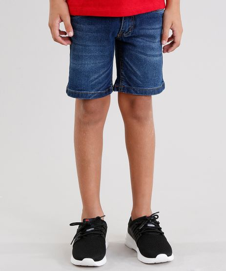 Bermuda-Jeans-Infantil-Slim-Azul-Medio-8703229-Azul_Medio_1