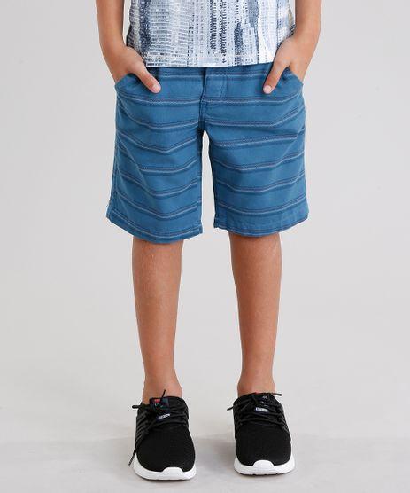 Bermuda-Infantil-Listrada-Azul-9046200-Azul_1