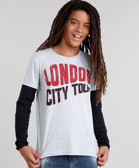 Camiseta-Infantil--London-City-Tour--Gola-Careca-Manga-Longa-Cinza-Mescla-9031415-Cinza_Mescla_1