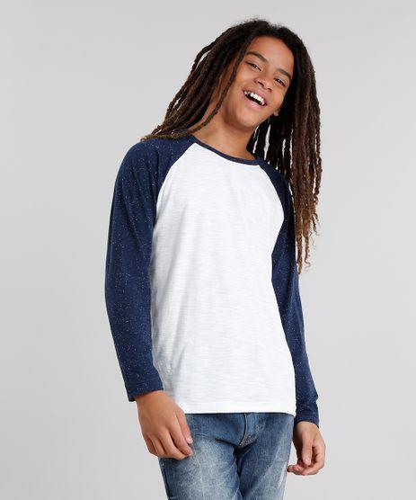 Camiseta-Infantil-Gola-Careca-Manga-Longa-Raglan-Botone--Branca-9033833-Branco_1