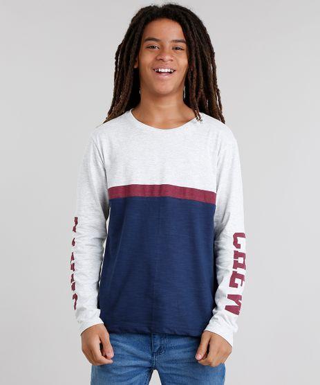 Camiseta-Infantil-com-Recorte-Manga-Longa-Gola-Careca-Azul-Marinho-9033882-Azul_Marinho_1