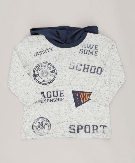 Camiseta-Infantil-Flame--School--com-Capuz-Manga-Longa-Cinza-Mescla-9036604-Cinza_Mescla_1