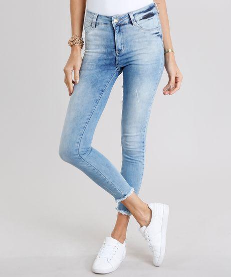 Calca-Jeans-Feminina-Super-Skinny-Sawary-Azul-Claro-9135596-Azul_Claro_1