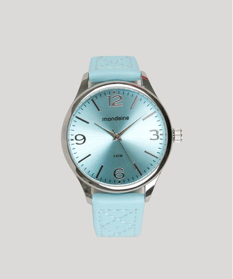 c648043a3cf Relógio Analógico Mondaine Feminino - 76618L0MVNH1 Azul - cea