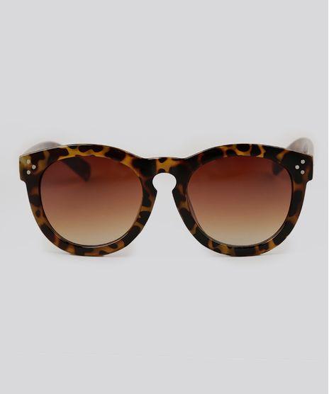 Oculos-de-Sol-Redondo-Feminino-Oneself-Tartaruga-9138047-Tartaruga_1