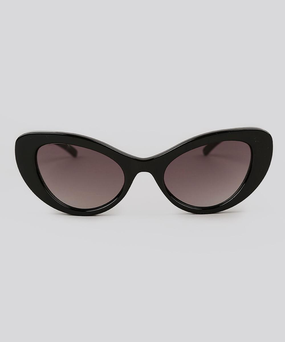 4d06145c9 ... Oculos-de-Sol-Gatinho-Feminino-Oneself-Preto-9102672-