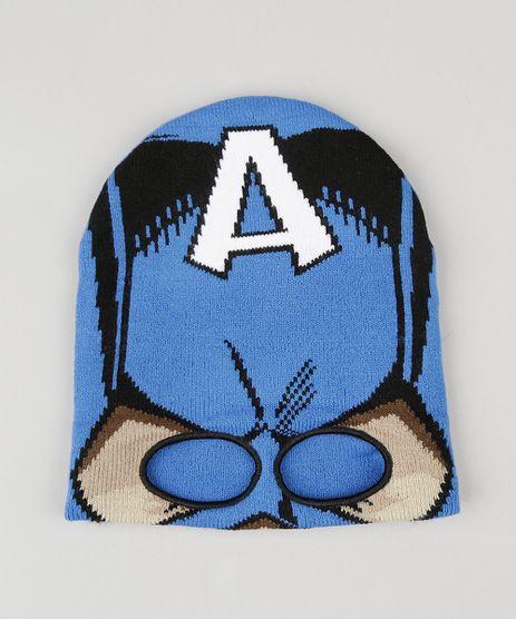 Gorro-Mascara-Infantil-em-Trico-Capitao-America-Azul-8865088-Azul_1