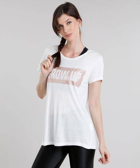 Blusa-Feminina-Esportiva-Ace--Grow-Up--Manga-Curta-Decote-Redondo-Off-White-9085241-Off_White_1