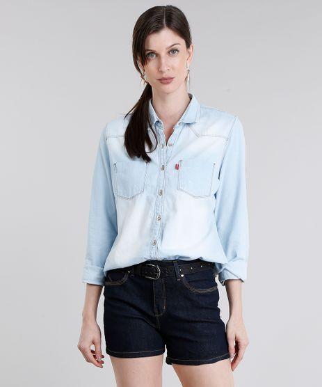 Camisa-Jeans-Feminina-Manga-Longa-Azul-Claro-9072662-Azul_Claro_1