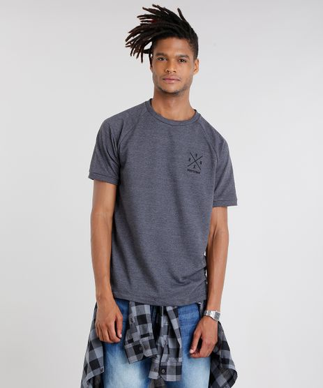 Camiseta-Masculina-Nineteen-86--Manga-Curta-Gola-Careca-Cinza-Escuro-9089233-Cinza_Escuro_1