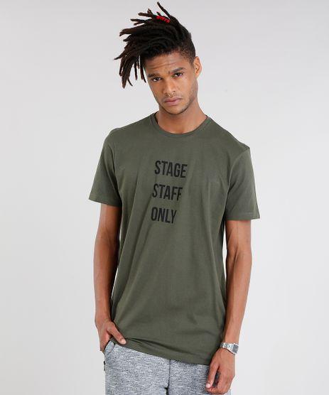 Camiseta-Masculina-Longa--Stage-Staff-Only--Manga-Curta-Gola-Redonda-Verde-Militar-9116974-Verde_Militar_1