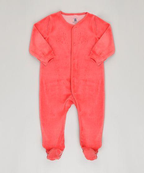 Macacao-Infantil-em-Plush-de-Algodao---Sustentavel-Vermelho-8861379-Vermelho_1