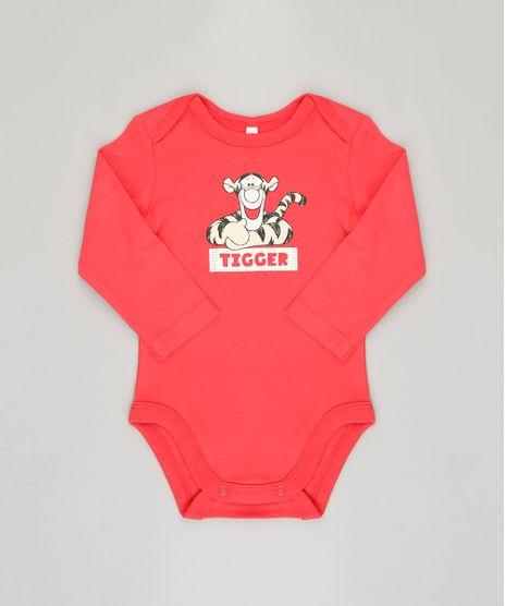 Body-Infantil-Tigrao-Manga-Longa-Gola-Redonda-em-Algodao---Sustentavel-Vermelho-8920325-Vermelho_1