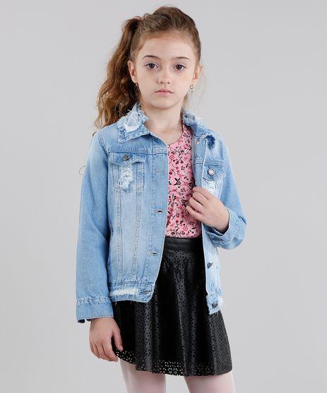 Jaqueta-Jeans-Infantil-Destroyed-Manga-Longa-Azul-Claro-9060560-Azul_Claro_1