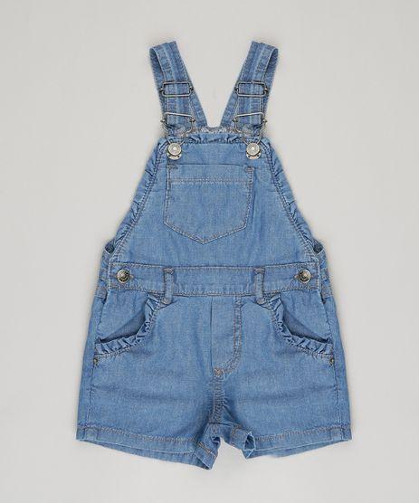 Jardineira-Jeans-Infantil-Basica-com-Babados-Azul-Medio-9133786-Azul_Medio_1