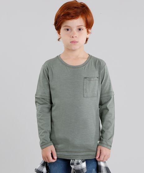 Camiseta-Infantil-com-Bolso-Manga-Longa-Gola-Careca-Verde-Militar-9037984-Verde_Militar_1