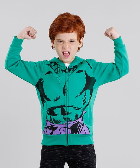 Blusao-Infantil-Hulk-em-Moletom-com-Capuz-com-Mascara-Manga-Longa-Verde-8838715-Verde_1