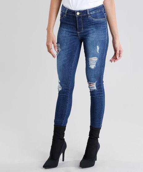 Calca-Jeans-Feminina-Sawary-Super-Skinny-Push-Up-Destroyed-Azul-Medio-9135604-Azul_Medio_1