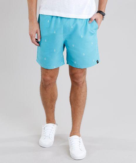 Short-Masculino-Estampado-de-Ancoras-Verde-Agua-9078644-Verde_Agua_1