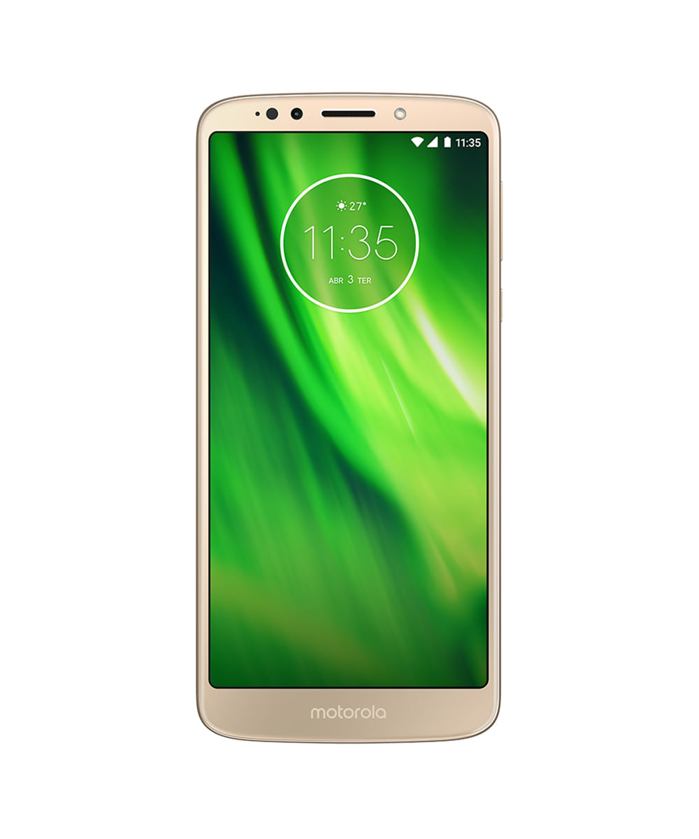 57fa8b0e1 Smartphone Motorola XT1922 Moto G6 Play 32GB Open Dourado ...