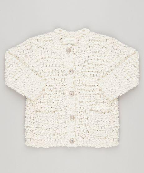 Cardigan-Infantil-em-Trico-com-Textura-Bege-Claro-8844423-Bege_Claro_1