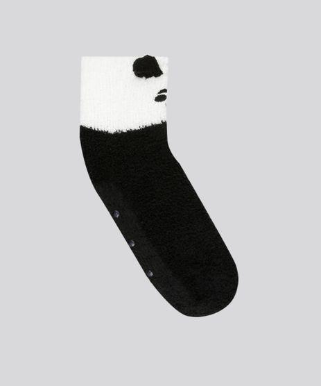 Meia-Feminina--Panda--de-Inverno-Preta-8491599-Preto_1