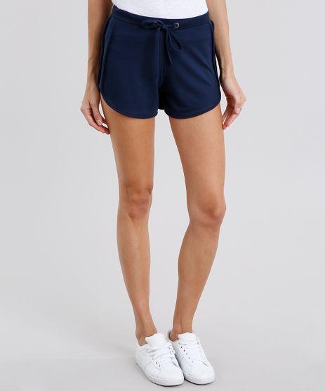 Short-Feminino-Running-Esportivo-Basico-em-Moletom-Azul-Marinho-8793882-Azul_Marinho_1