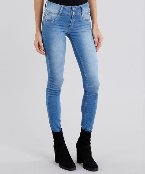 Calca-Jeans-Feminina-Super-Skinny-Sawary-Azul-Claro-9158659-Azul_Claro_1