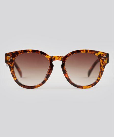 Oculos-de-Sol-Redondo-Feminino-Oneself-Tartaruga-9138081-Tartaruga_1