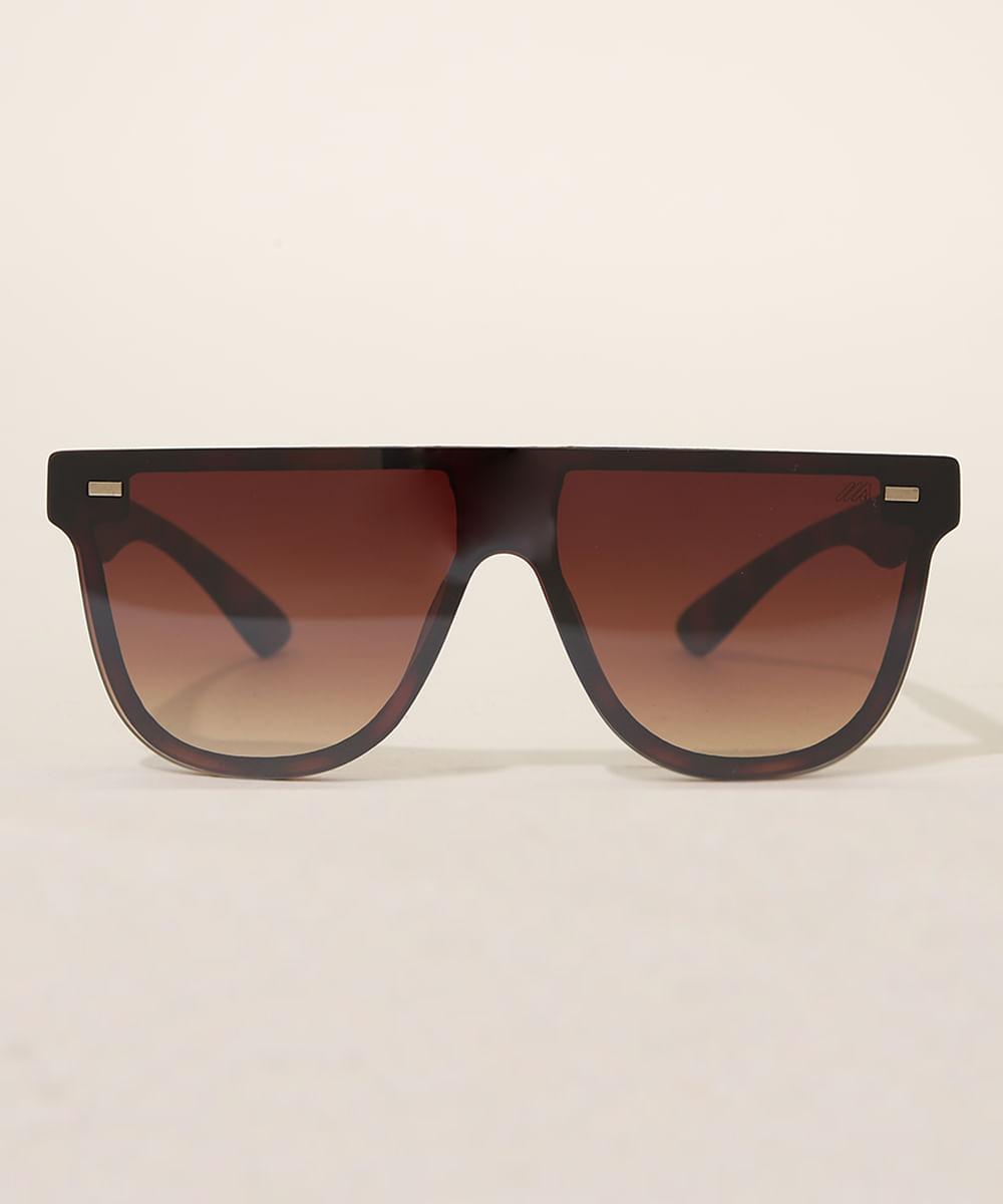 Óculos de Sol Masculino Quadrado Ace Marrom
