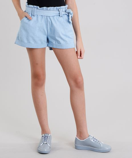 Short-Jeans-Infantil-Clochard-em-Algodao---Sustentavel-Azul-Claro-9138439-Azul_Claro_1