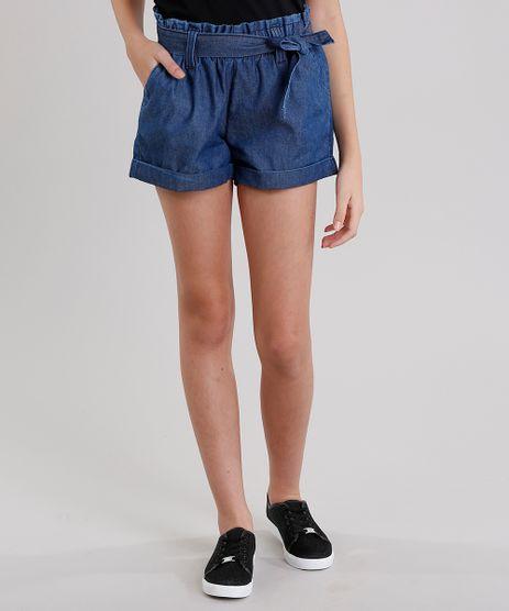 Short-Jeans-Infantil-Clochard-em-Algodao---Sustentavel-Azul-Escuro-9138438-Azul_Escuro_1