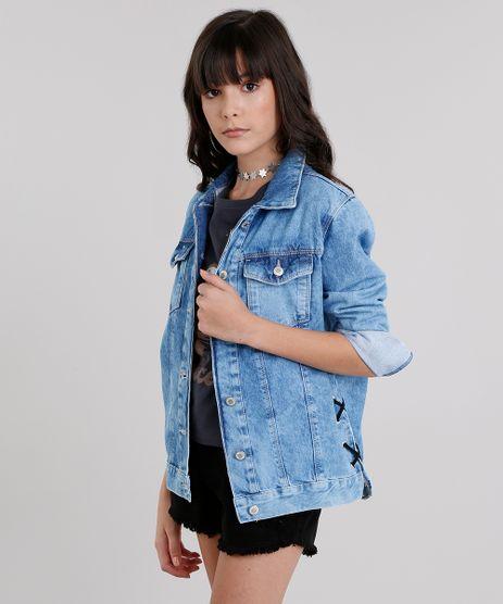 Jaqueta-Jeans-Infantil-com-Ilhos-Azul-Claro-9046218-Azul_Claro_1
