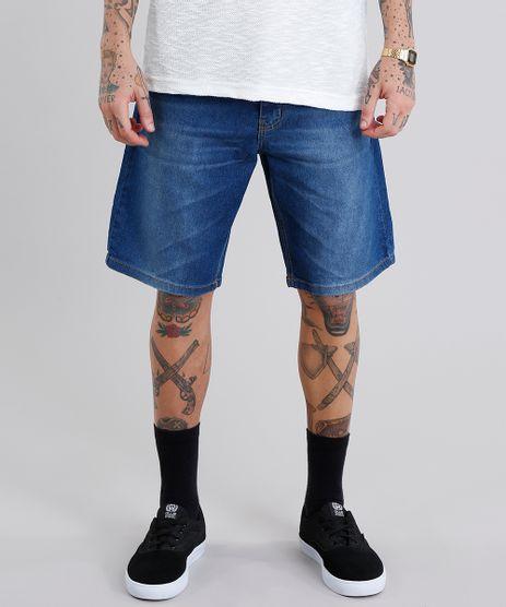 Bermuda-Jeans-Masculina-Reta-Azul-Escuro-8758315-Azul_Escuro_1