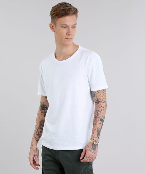 Camiseta-Masculina-Basica-Manga-Curta-Gola-Careca-Branca-8472740-Branco_1