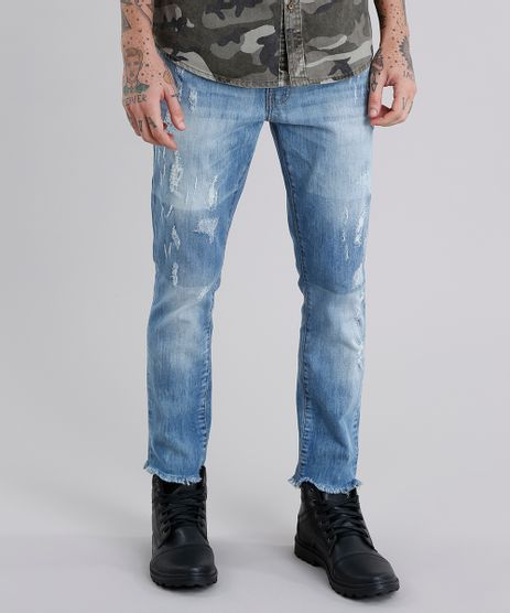 Calca-Jeans-Skinny-Cropped-Destroyed-Azul-Medio-9029577-Azul_Medio_1