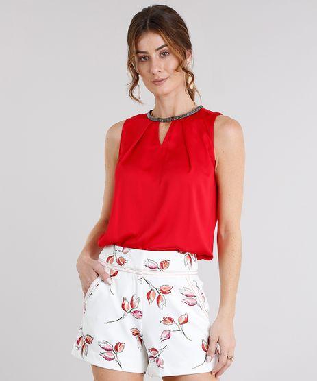 Regata-Feminina-Acetinada-com-Corrente-Decote-Redondo-Vermelha-8899233-Vermelho_1