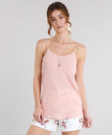Regata-Feminina-Basica-com-Alcas-Rose-8926423-Rose_1