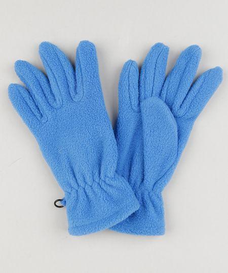 04aeda5e4b Luva Infantil de Inverno em Fleece Azul Royal - cea