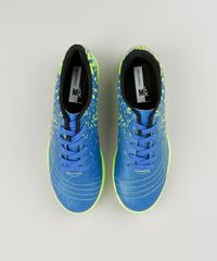 ... Chuteira-Infantil-Molekinho-Futsal-Estampada-Azul-9131079-Azul 1 611080b64a045