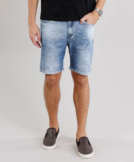 Bermuda-Jeans-Masculina-Skinny-com-Bolsos-Azul-Claro-8801286-Azul_Claro_1