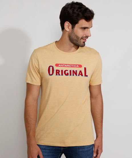 Camiseta-Masculina-Manga-Curta-Gola-Careca-Original-Mostarda-9981175-Mostarda_1