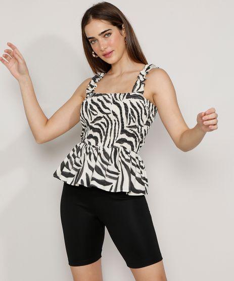 Regata-Feminina-Mindset-Estampada-Animal-Print-Zebra-com-Babado-Alca-Larga-Decote-Reto-Branca-9985181-Branco_1